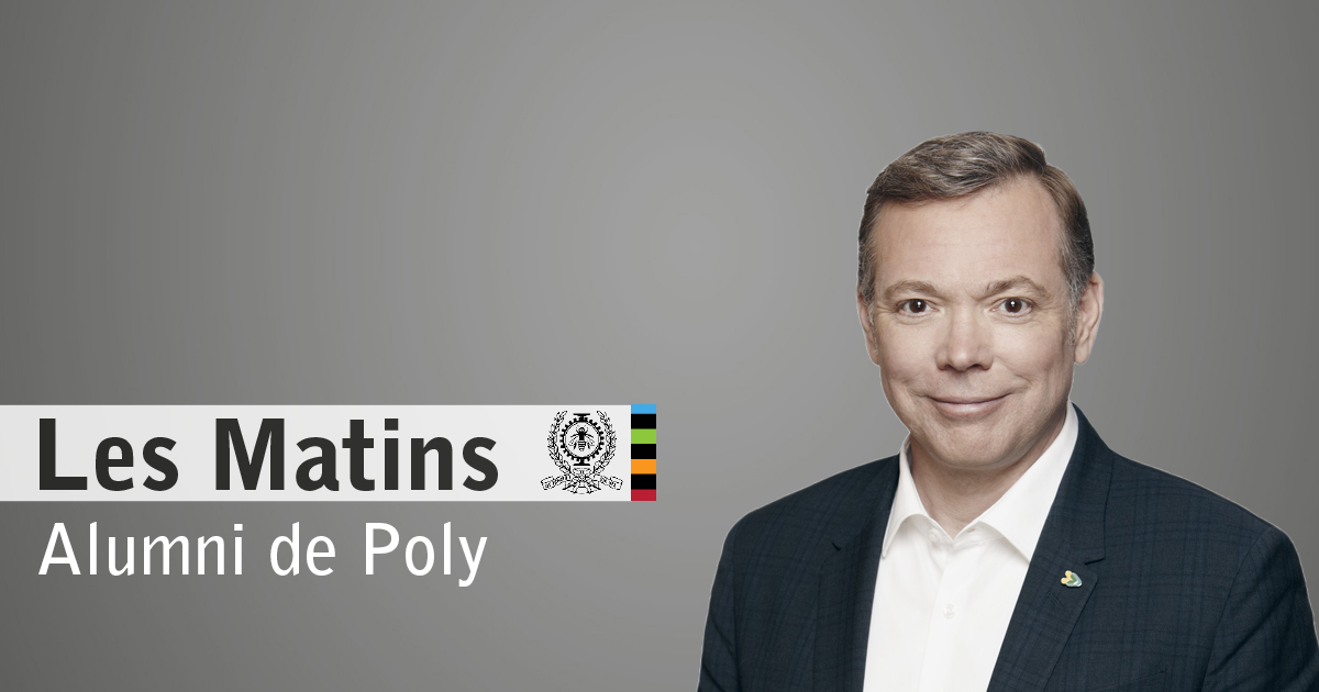 2e Matin Alumni de Poly en compagnie de Philippe Schnobb